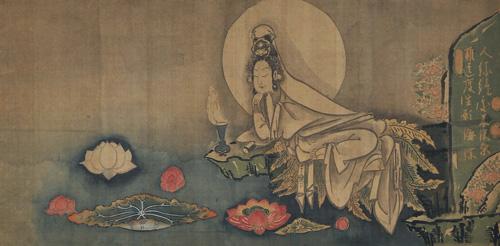 ①白隠慧鶴《蓮池観音》_江戸時代(18世紀)_個人蔵.jpg