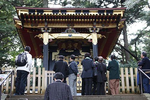 瑞巌寺で特別公開されている陽徳院(愛姫)御霊屋
