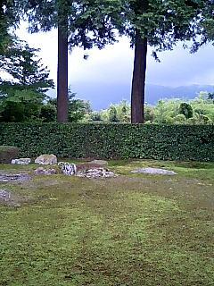 円通寺_比叡山借景の庭