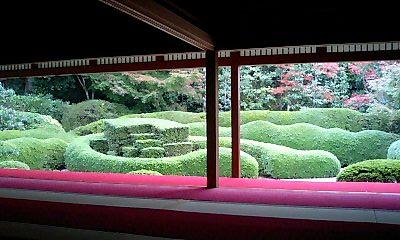 大池寺_蓬莱庭園