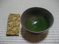 濃茶茶碗と服紗