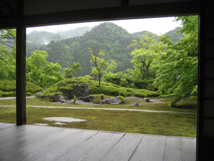 永源寺_借景の庭