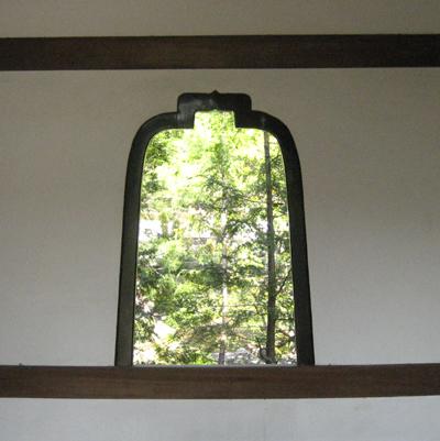 麟祥院の華頭窓