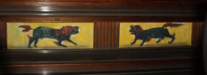 妙興寺仏殿 獅子