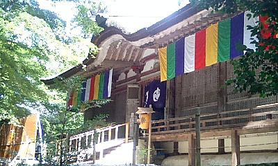 ご開帳でにぎわう百済寺