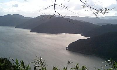 美しい湖北からの琵琶湖