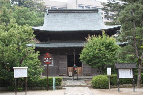 洞春寺 観音堂