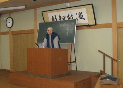 惠信所長の講演
